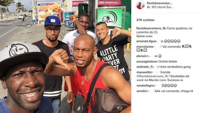 Instagram Boaventura CRB (Foto: Reprodução/Instagram)