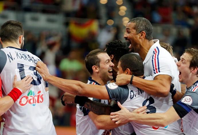 Handebol, França x Espanha (Foto: Reuters)
