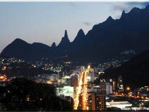 Centro de Teresópolis, RJ (Foto: Divulgação)