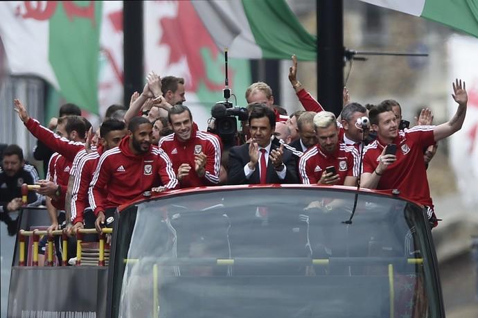 País de Gales festa (Foto: Reuters)