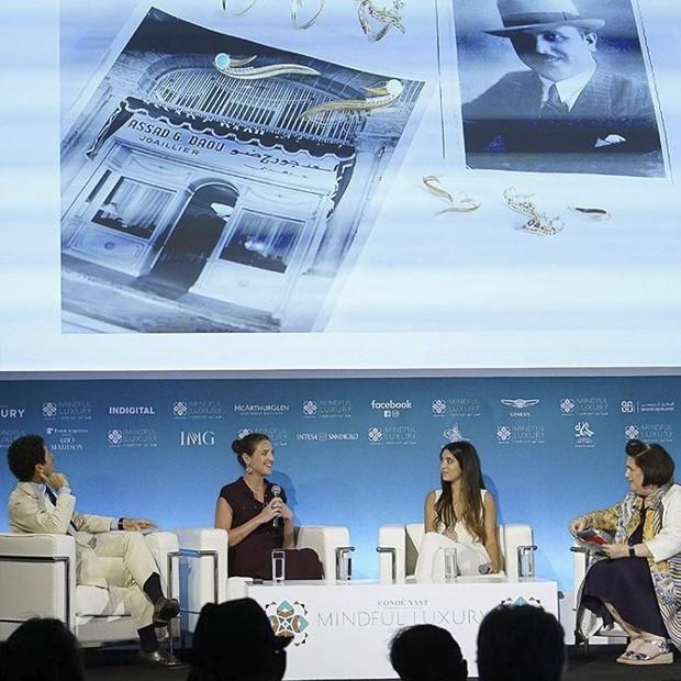 Condé Nast International Luxury Conference  (Foto: Reprodução/Instagram)
