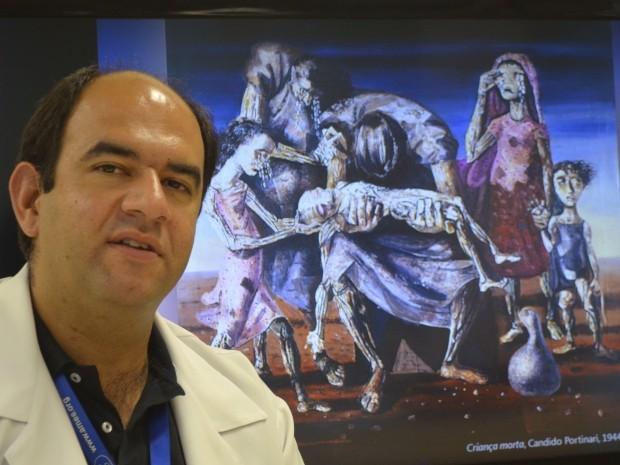 O médico Marco Antônio de Carvalho Filho, da Unicamp (Foto: Fernando Pacífico / G1 Campinas)