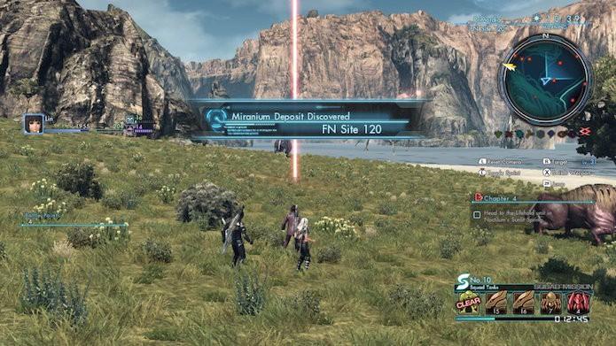 Xenoblade Chronicles X: vá até o local inexplorado para desbloquear a área (Foto: Reprodução/Victor Teixeira)