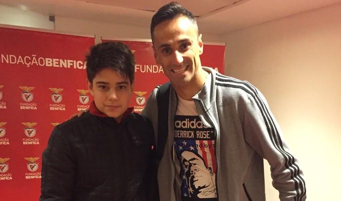 Internacional Inter Argel Fucks Benfica Argel filho Jonas (Foto: Arquivo Pessoal)