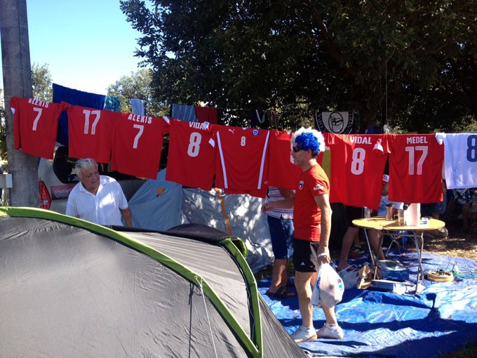 Caravana de chilenos já está em Cuiabá