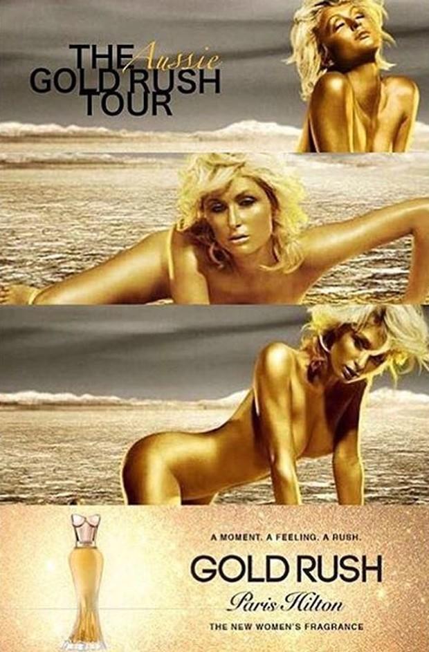 Paris na campanha do perfume Gold Rudh (Foto: Reprodução/Instagram)