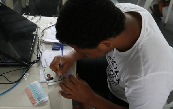 Ação Global também ofereceu serviços para regularizar documentos pessoais (Foto: Reprodução/ Sistema Fiemt)