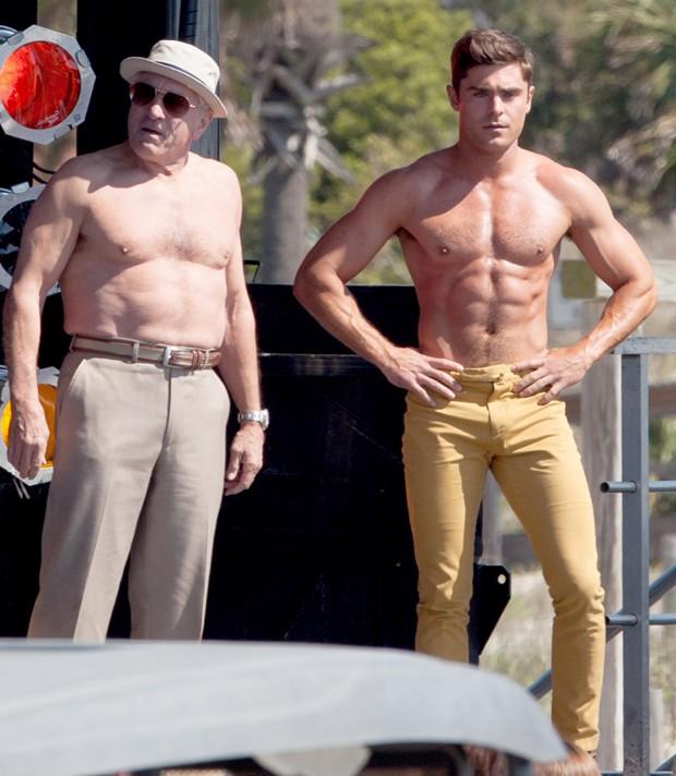 Astro de  High School Musical  impressionou ao exibir o corpão musculoso e  bronzeado durante filmagens de  Dirty Grandpa  a2fb8c90b8