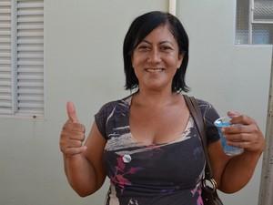 Dilma entrega 3.081 casas do 'Minha Casa Minha Vida' em Santarém, PA (Foto: Weldon Luciano/G1)