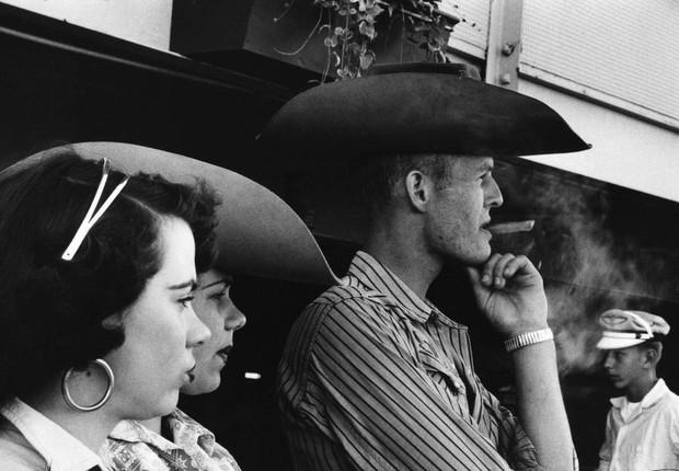 Foto de Robert Frank que integra a exposição Os Americanos, que abre o Instituto Moreira Salles (IMS) (Foto: Divulgação)