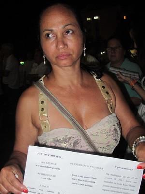 Marli conhecia duas das vítimas (Foto: Tahiane Stochero/G1)