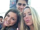 Danielle Winits posta foto e se despede de elenco de 'Malhação'