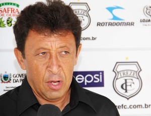 Lorival Santos, técnico do treze (Foto: Magnus Menezes / Jornal da Paraíba)