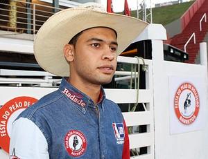 Diogo Machado obteve a segunda melhor nota da primeira noite em Barretos (Foto: Cleber Akamine)