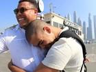 Ronaldo Fenômeno usa rede social para dar parabéns aos filhos