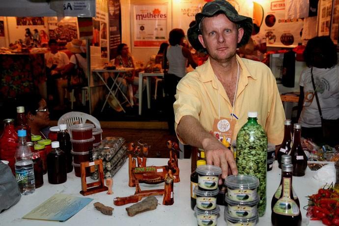 Agricultor Vilmar Lermen pratica a agroecologia
