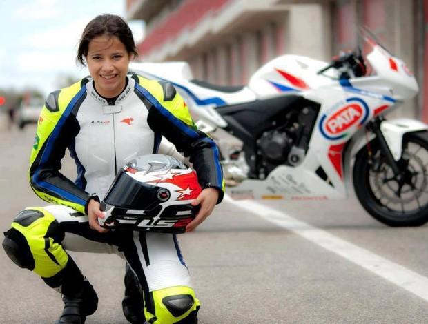 Sabrina Paiuta Brasileiro de Motovelocidade European Junior Cup Superbike (Foto: Divulgação)