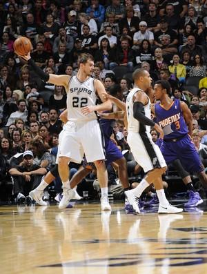 Tiago Splitter, Spurs x Suns (Foto: Getty)