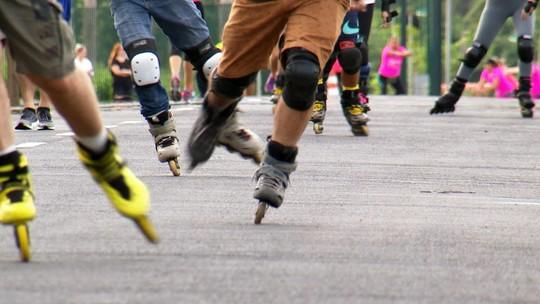 Revista de Sábado mostra a volta da febre dos patins