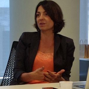Paula Bellizia é diretora do Facebook de negócios da divisão de pequenas e médias empresas na América Latina (Foto: Daniela Braun)