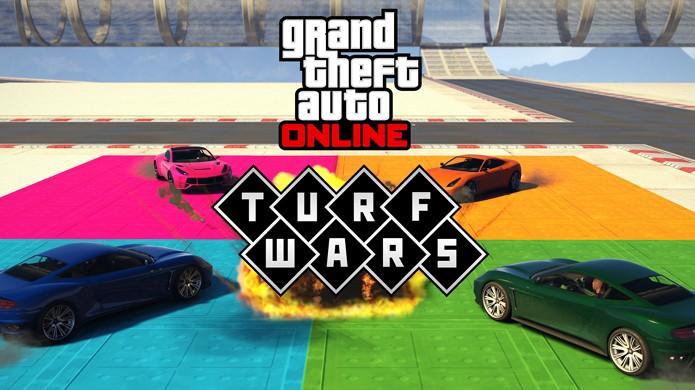 GTA 5 recebe modo Turf Wars em seu multiplayer GTA Online com disputas por território (Foto: Divulgação/Rockstar)