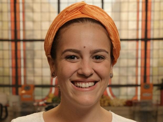 Sofia Marinho quer provar que sabe cozinhar (Foto: Divulgao/GNT)