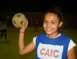 CAIC Balduíno Feminino (Foto: Josiel Martins/GLOBOESPORTE.COM)