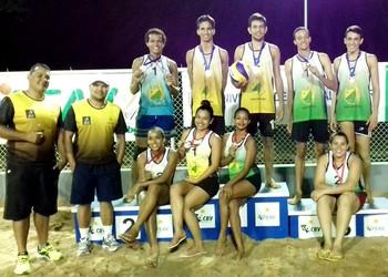 2ª etapa do Campeonato Acreano de Vôlei de Praia Sub-21 (Foto: FEAV/Divulgação)