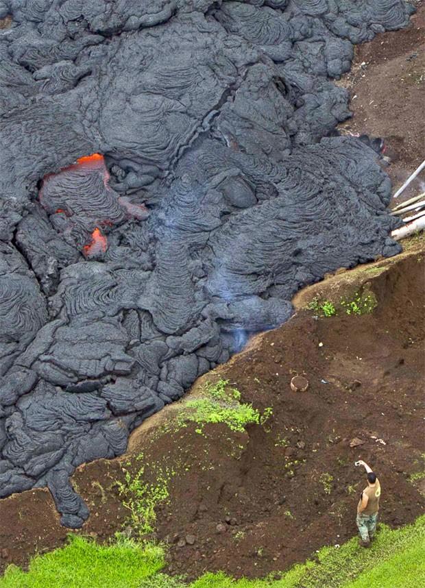 Resultado de imagem para lava de vulcão havaiano