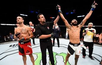 Brasileiro Felipe Silva estreia no UFC com belo nocaute no primeiro round