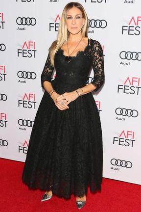 Sarah Jessica Parker em première de filme em Los Angeles, nos Estados Unidos (Foto: Jean Baptiste Lacroix/ AFP)