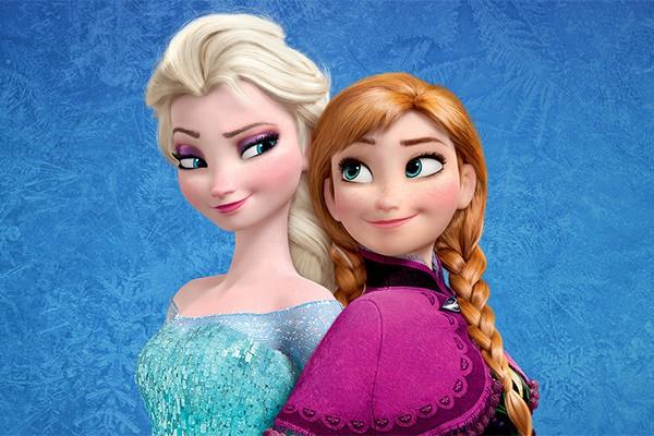 As irmãs Elsa e Anna em Frozen - Uma Aventura Congelante (2013) (Foto: Divulgação)