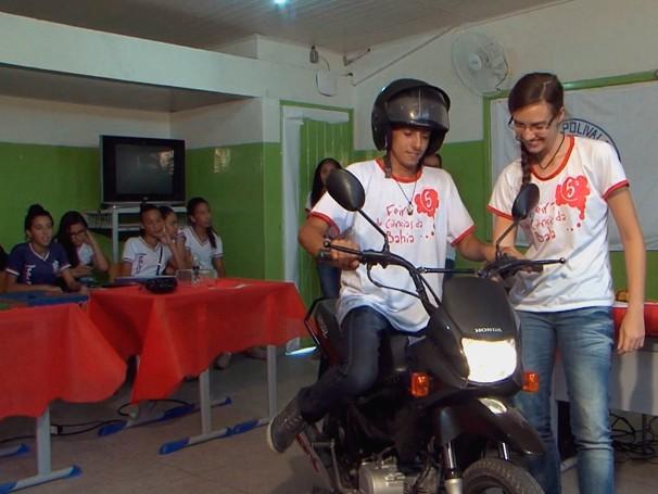 Grande ideias, pequenas inveções: capacete salva-vidas (Foto: Globo)