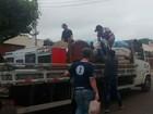 Jovens se unem e arrecadam doações para vítimas de temporal