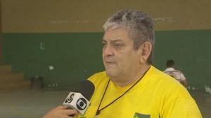 Ernesto Dias; Amapá. Basquete Adaptado (Foto: Reprodução/Rede Amazônica no Amapá)