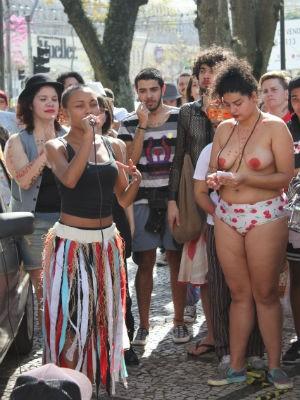 Esta é a quarta edição da marcha em Curitiba  (Foto: Renata Sembay / Arquivo pessoal )