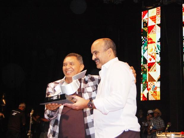 'A lição da sanfona de Gonzaga' conquistou o primeiro lugar na 25ª edição do Forró Fest (Foto: Taiguara Rangel/G1)