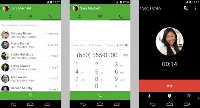 Hangouts agora integra o Google Voice e faz chamadas de voz (Foto: Divulgação/Google)
