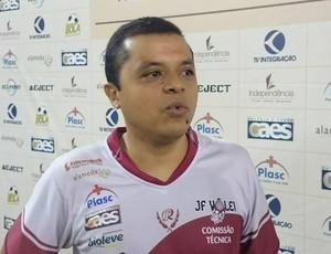 Alessandro Fadul técnico Juiz de Fora vôlei (Foto: Bruno Ribeiro)