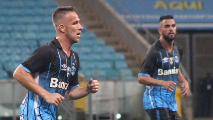 Grêmio x são José Arena do Grêmio Arthur Maicon (Foto: Fernando Martinez/Divulgação)