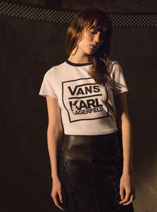 Karl Lagerfeld para Vans (Foto: Divulgação)