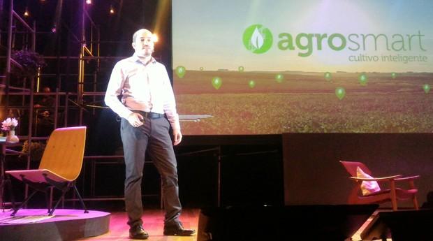 Raphael Pizzi, diretor de operações da Agrosmart (Foto: Filipe Oliveira)