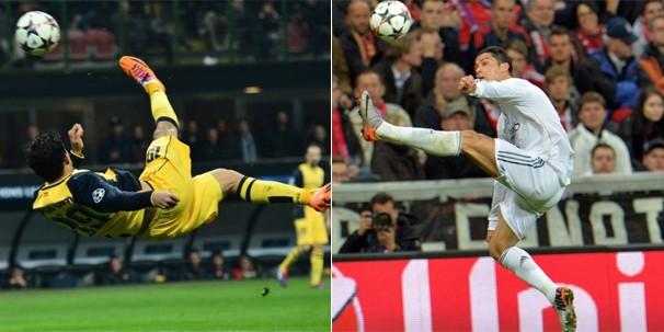 Real Madrid e Atlético de Madrid se enfrentam em Portugal na final da Liga do Campeões (Foto: Getty Images/EFE/Associated Press/AFP)