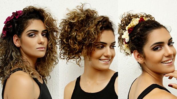 [BELEZA] Penteados para cabelos cacheados (Foto: Celso Tavares / EGO)
