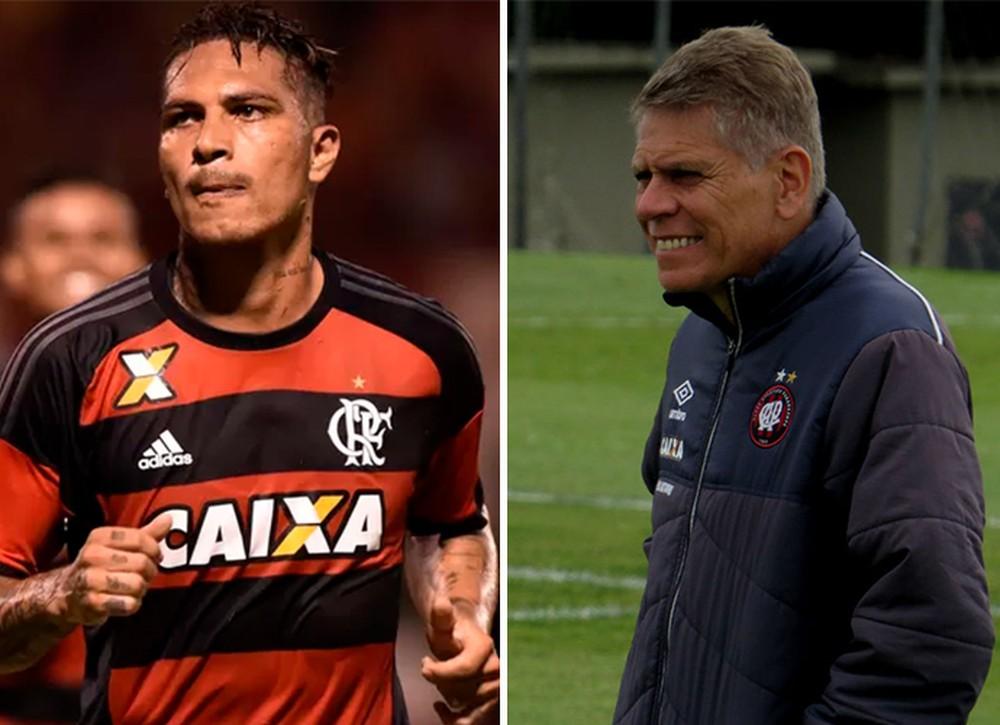 Paolo x Paulo peruano do Fla revê homem que o levou à seleção técnico do
