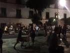 Manifestantes fazem protesto contra PEC e pacotes de medidas no RJ