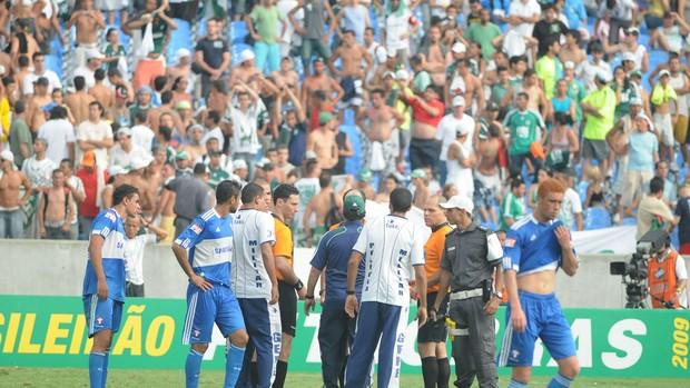 Palmeiras e Fluminense, 2009 (Foto: André Durão / Globoesporte.com)