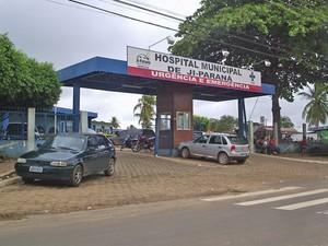 Os pacientes com suspeitas de H1N1 estão sendo tratados no Hospital Municipal de Ji-Paraná. (Foto: (Roberto Oliveira/TV Ji-Paraná) )