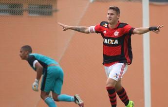 Fla vence o Botafogo no primeiro  jogo da final do Carioca Sub-20