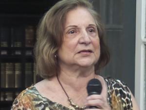 Suzana Alice é professora emérica do Instituto de Letras da Ufba. (Foto: Ricardo Follador/ Divulgação ALB)